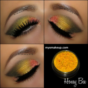 MYO Honey Bee Eyeshadow Pigment Mica Loose Powder Cosmetic Makeup