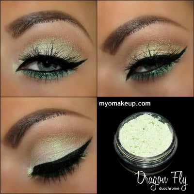 MYO Duochrome Dragon Fly Eyeshadow Pigment Mica Loose Powder Cosmetic Makeup