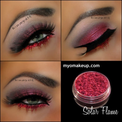 MYO Solar Flame Eyeshadow Pigment Mica Loose Powder Cosmetic Makeup