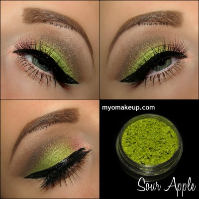 MYO Sour Apple Eyeshadow Pigment Mica Loose Powder Cosmetic Makeup