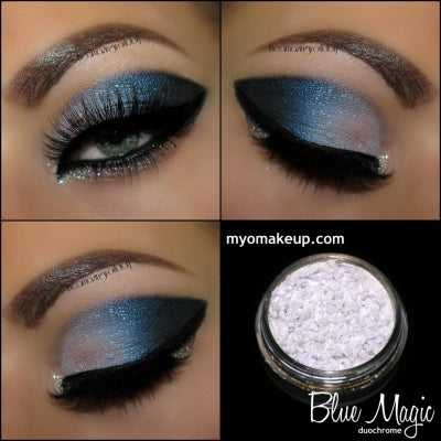 MYO Duochrome Blue Magic Eyeshadow Pigment Mica Loose Powder Cosmetic Makeup