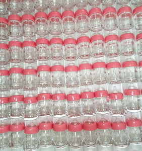 8ML Empty Pink Mini Lip Gloss Baby Bottle Tubes