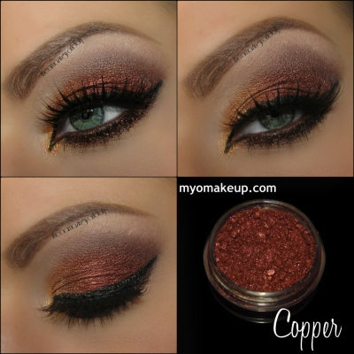 Myo Copper Eyeshadow Pigment Mica Cosmetic Loose Powder Mineral Makeup