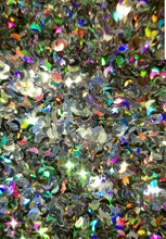 Load image into Gallery viewer, 1 Ounce Crescent Moon Loose Glitter