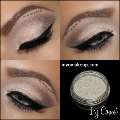 MYO Icy Comet Eyeshadow Glitter Pigment Mica Loose Powder Cosmetic Makeup