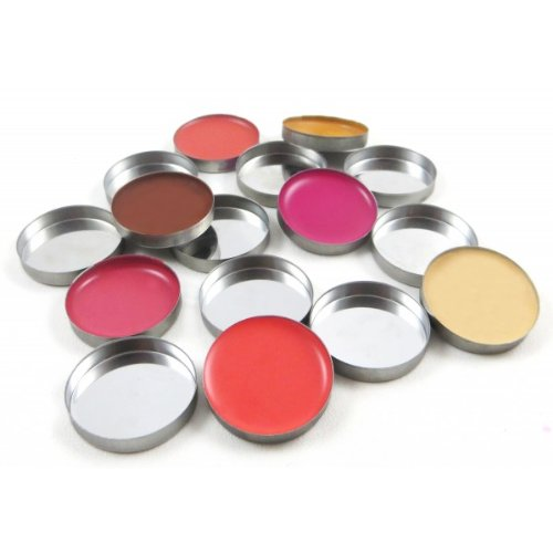 25 Z Palette Pro Empty Round Metal Tin Palette Pans For Eyeshadow Palette Size 26mm Responsive To Magnets For Z Palettes