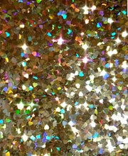 Load image into Gallery viewer, 1 Ounce Heart Of Gold Loose Glitter