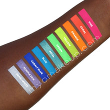 Load image into Gallery viewer, 10 MYO Ultra Bright Eyeshadow Pigment Stackable Jar Set Mica Cosmetic Mineral Makeup.