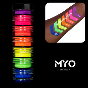 7 MYO Stackable All Ultra Bright Matte Eyeshadow Pigments