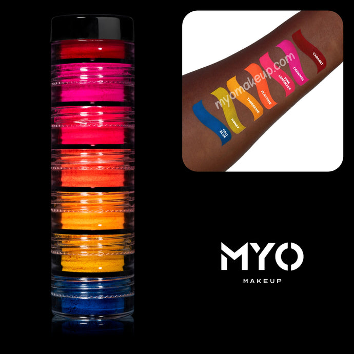 7 MYO HD Stackable All Ultra Bright Matte Eyeshadow Pigments