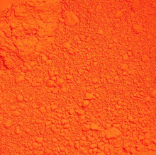 Load image into Gallery viewer, 1 Ounce Ultra Bright Orange Matte Loose Powder Pigment