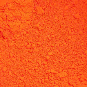 1 Ounce Ultra Bright Orange Matte Loose Powder Pigment