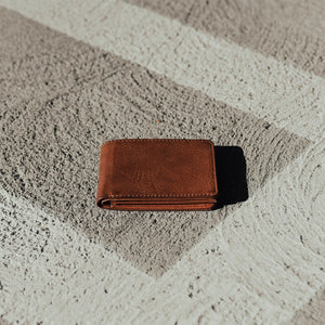 Vegan Leather Bi-Fold Wallet