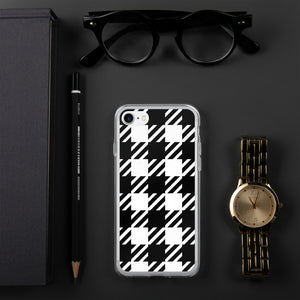Vintage Houndstooth iPhone Case