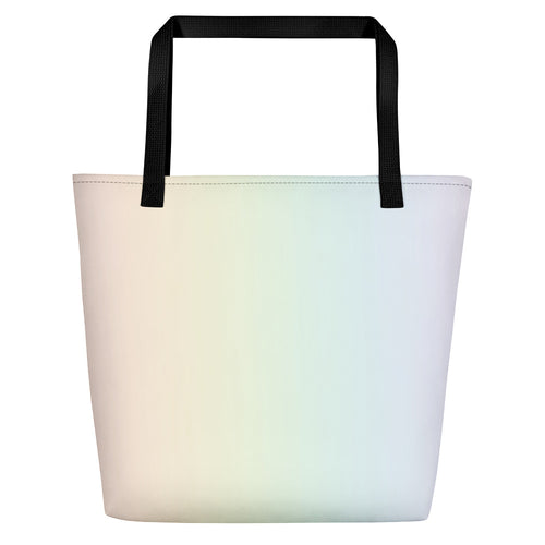 Rainbow Beach Bag Tote