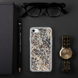 Sand - Black and White Swirl - Funda para iPhone de Apple