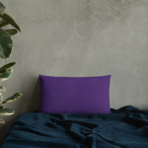 Square & Rectangle Dark Purple Pillows