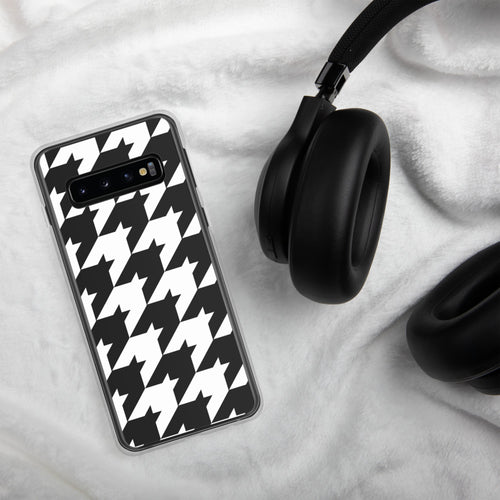 Large Print Classic Houndstooth Samsung Case