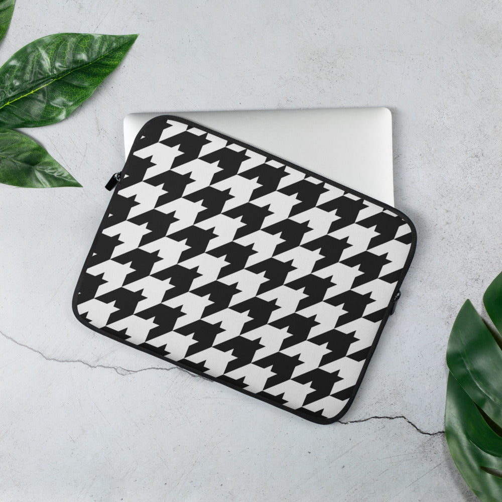Classic Houndstooth Laptop Sleeve