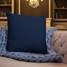 Square & Rectangle Midnight Blue Premium Pillows (sold separately)