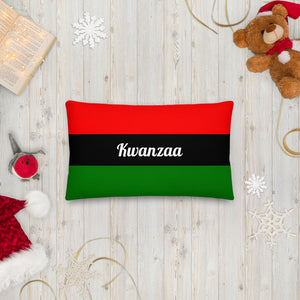 Rectangle Kwanzaa Pillow