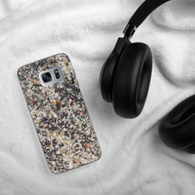 Sand - Black and White Swirl - Samsung phone case