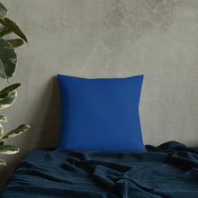 Square & Rectangle Dark Blue Premium Pillows (sold separately)
