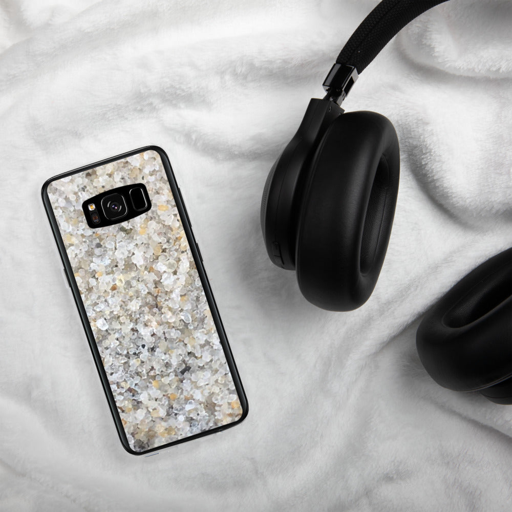 Sand - White Samsung phone case