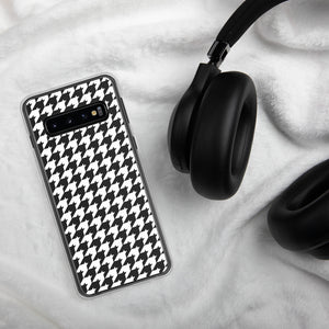 Small Print Classic Houndstooth Samsung Case