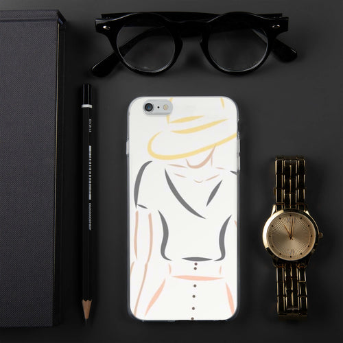 Fashion Illustration iPhone Case