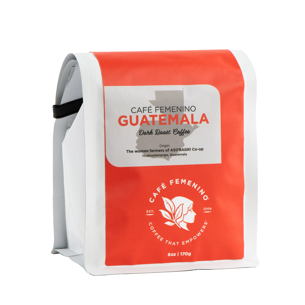 Café Femenino Guatemala Mini Whole Bean Coffee