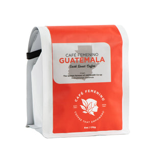 Café Femenino Organic Guatemala | Mini Whole Bean Coffee