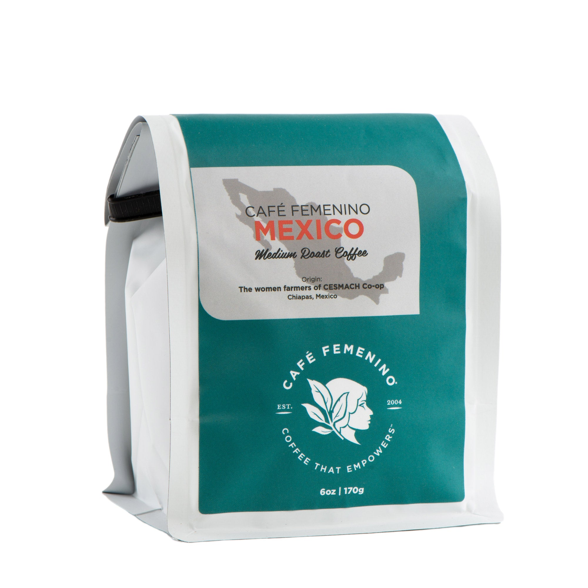 Café Femenino Mexico Chiapas Mini Whole Bean Coffee