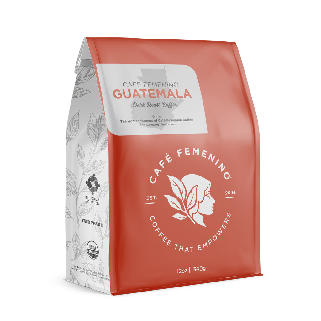 Café Femenino Organic Guatemala | Whole Bean Coffee