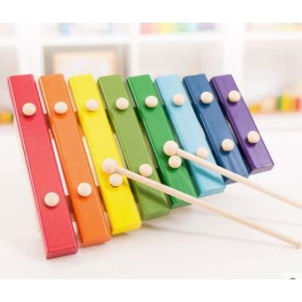 8 Scale Wooden Xylophone - musical instrument