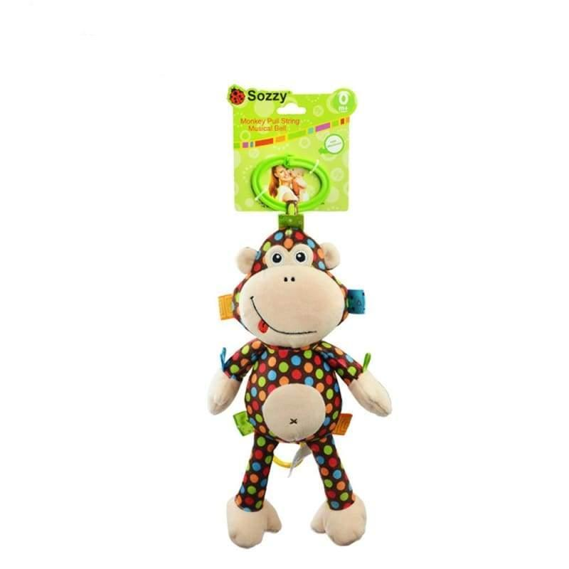 Activity Monkey Rattle Toy - rattle & teether