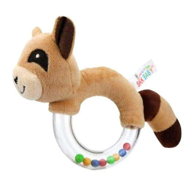 Animal Beads Hand Toy - rattle & teether