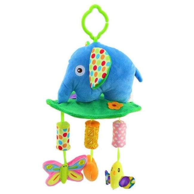 Animal Elephant Hanging Rattle toys - Elephant - rattle & teether