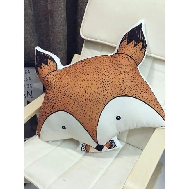 Animal Fox Decor Pillows - Fox - pillows