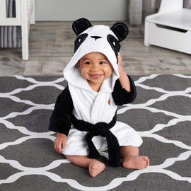 Baby Bath Hooded Panda Towel - Panda 90cm - baby bathing