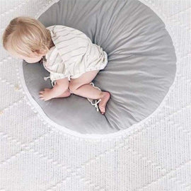 Baby Crawling Grey Play Mat - Grey / 90CM - carpets