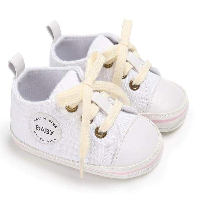 Baby First Walker White Sneaker - shoes