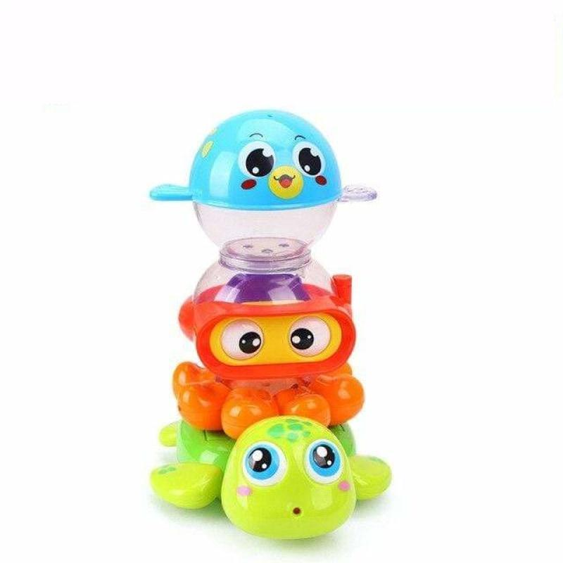 Bath Water Animal Stacking Toys