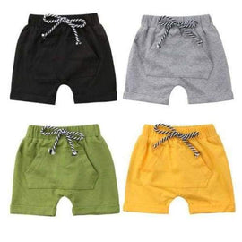 Casual Cotton Shorts Pockets