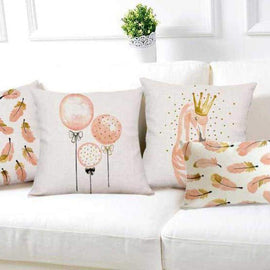 Cute Soft Pillow Cover - pillows