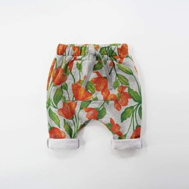 Deer Flower Trousers - bottoms