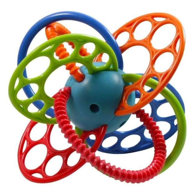 Funny Shape Teether Toy - rattle & teether