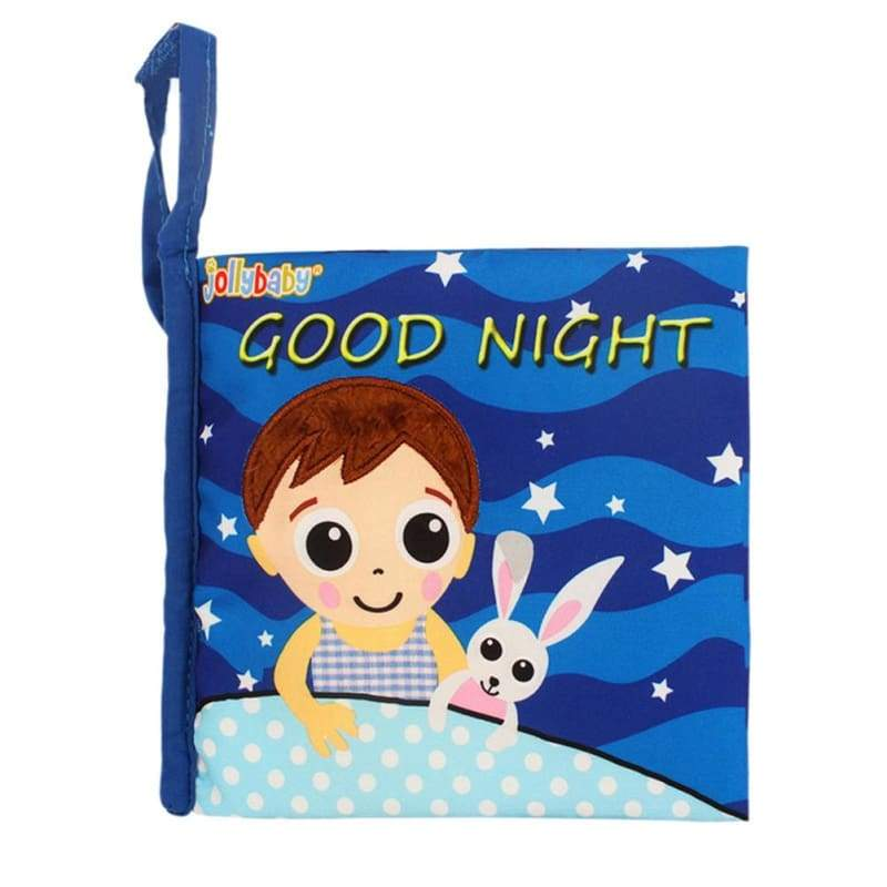 Good Night Soft Baby Book - activity toys
