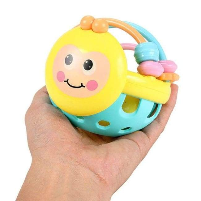 Hand Grasp Rattle Ball - rattle & teether