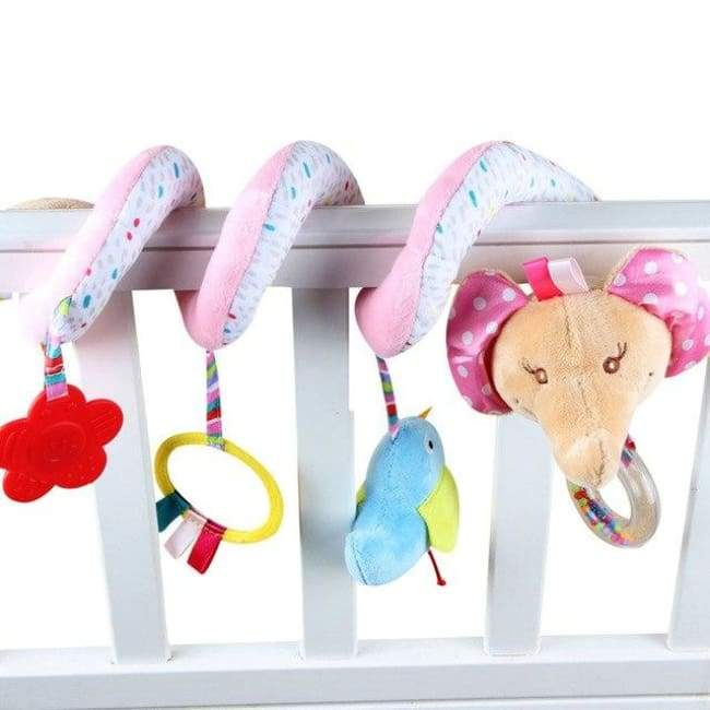 Hanging Rattle Toys - Blue - rattle & teether